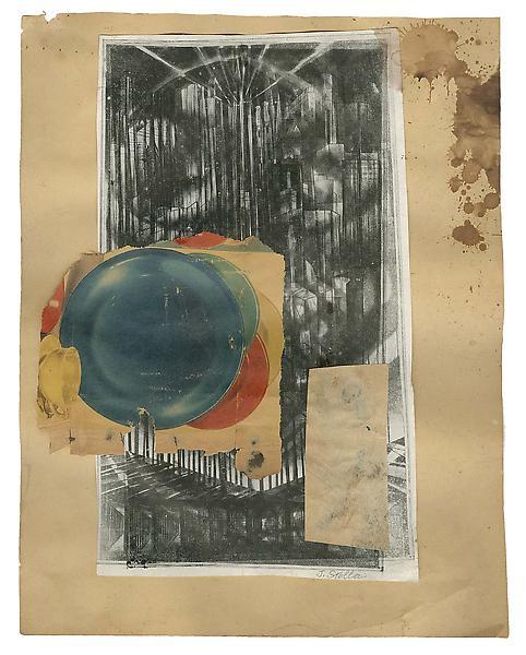 Macchina Naturale #4, c.1925 collage of various pr...