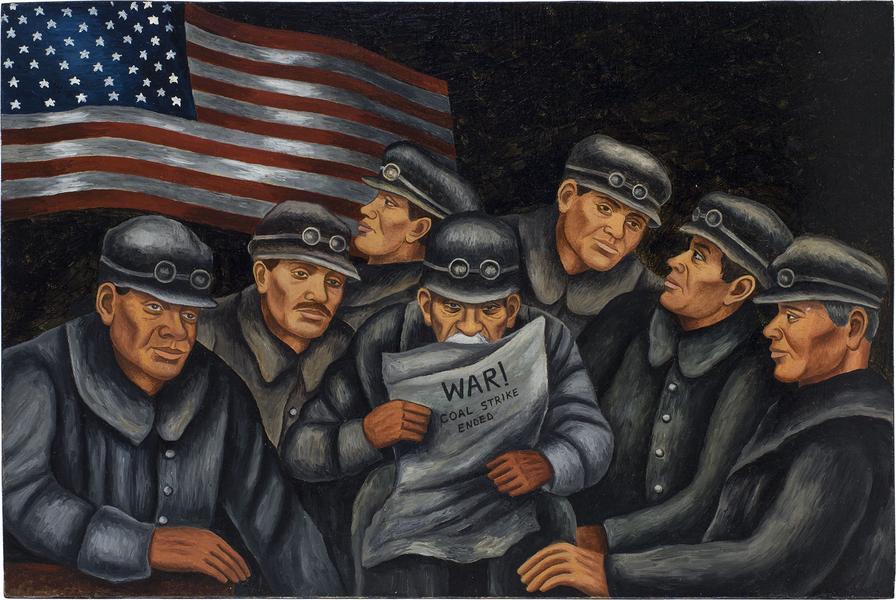 Harry Sternberg (1904-2001) Untitled (War! Coal St...