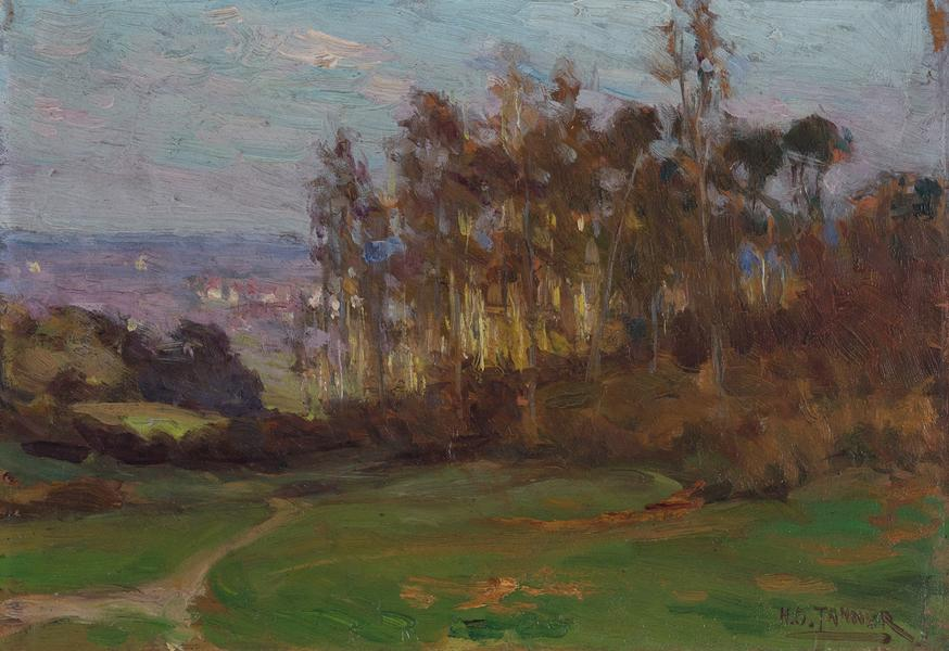 Edge of the Forest (Bois d'Amour), c.1893 oil...