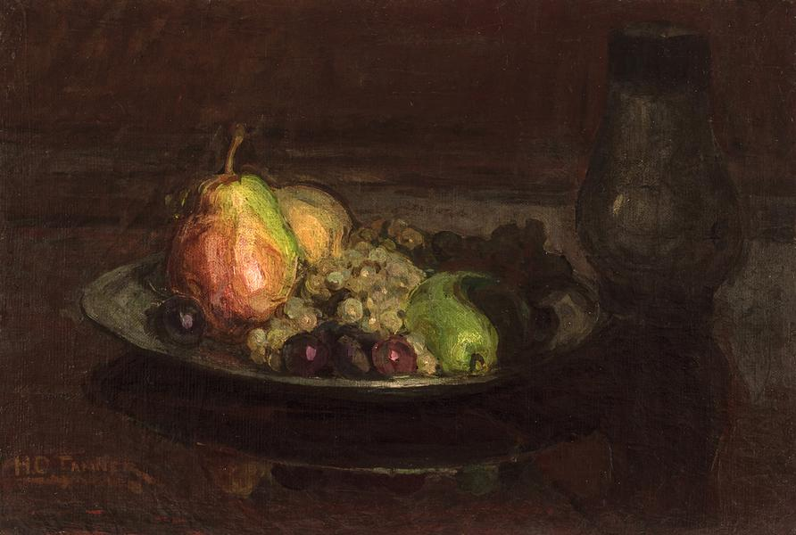 "Still-Life with Fruit, c.1910 oil on canvas 15"" x..."