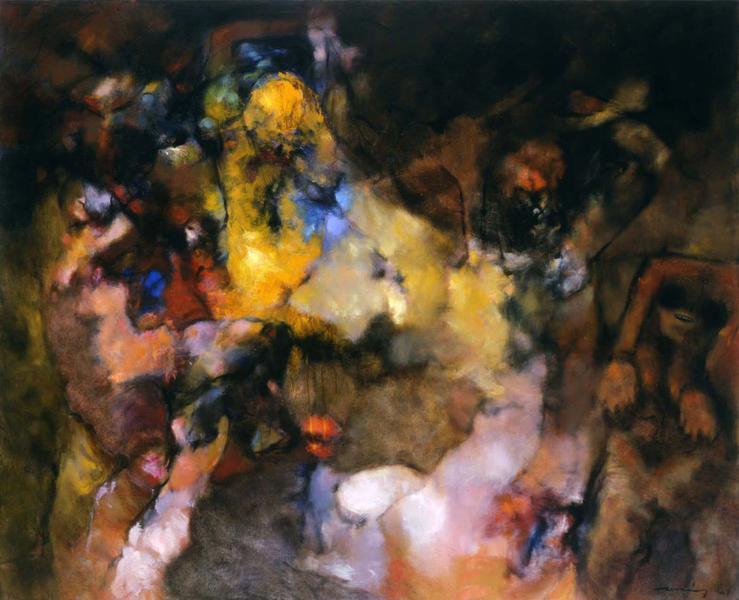 Dorothea Tanning (1910-2012) Kenningar, 1961 oil o...