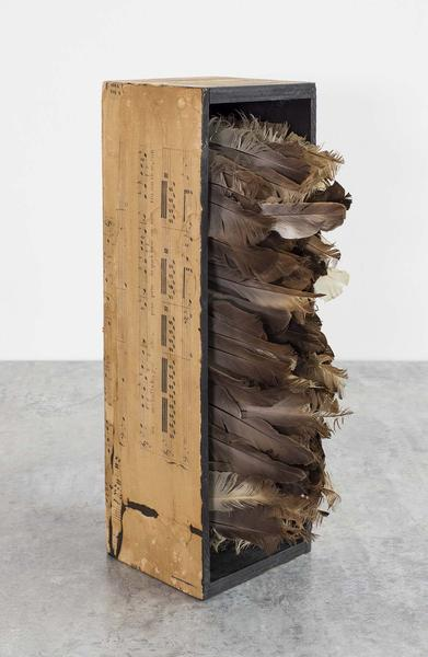 Untitled (Arietta), c.1967 mixed media box constru...