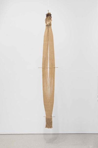 Untitled, c.1960 linen, feathers, twigs and wire 1...
