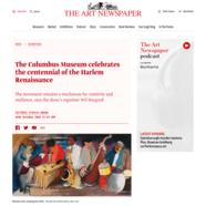 The Art Newspaper, October 19, 2018