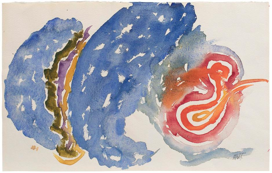 Alma Thomas (1891-1978) Untitled, c.1966 watercolo...