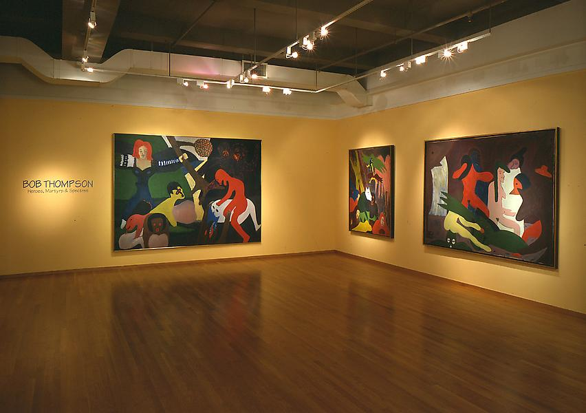 Installation Views - Bob Thompson: Heroes, Martyrs, and Spectres - September 11 – November 8, 1997 - Exhibitions
