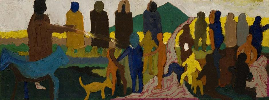 Bob Thompson (1937-1966) The Casting of the Spell,...