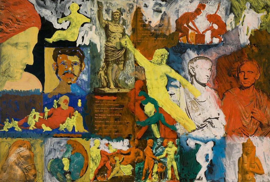 Bob Thompson (1937-1966) Untitled (Augustus), 1963...