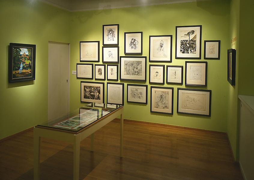 Installation Views - Bob Thompson: Fantastic Visions, Paintings & Drawings - November 5, 1998 – January 9, 1999 - Exhibitions