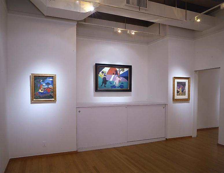 Installation Views - Bob Thompson: Meteor in a Black Hat - November 11, 2005 – January 7, 2006 - Exhibitions
