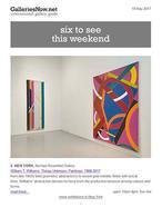 GalleriesNow newsletter, May 19, 2017