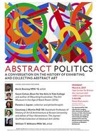 Abstract Politics Flyer, March 6, 2017