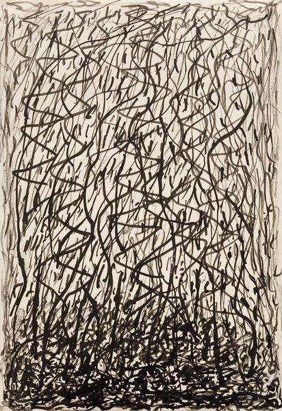 "Untitled, c.1925 black ink on paper 10 1/2"" x 7 1/..."