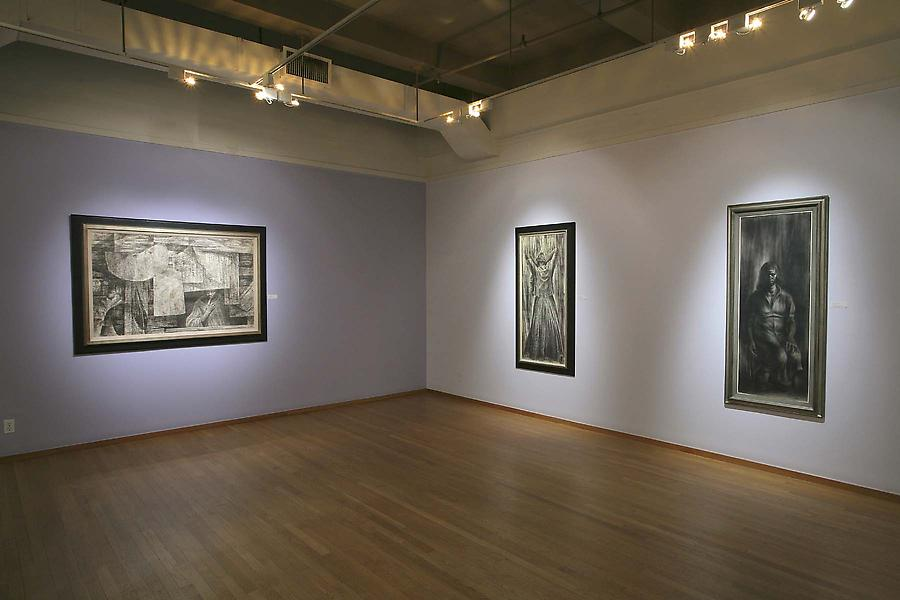 Installation Views - Charles White: Let the Light Enter, Major Drawings 1942-1970 - January 10 – March 7, 2009 - Exhibitions