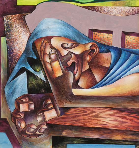 Charles White (1918-1979) Untitled, c.1942 tempera...