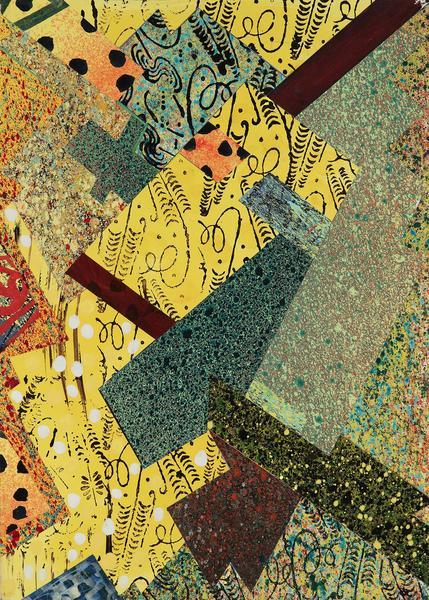 William T. Williams (b.1942) Honey Dots, 2008 coll...