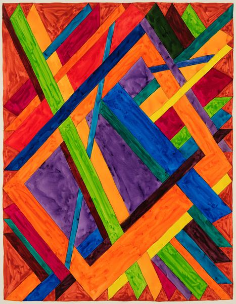 William T. Williams (b.1942) Palm Cafe, 1970 acryl...