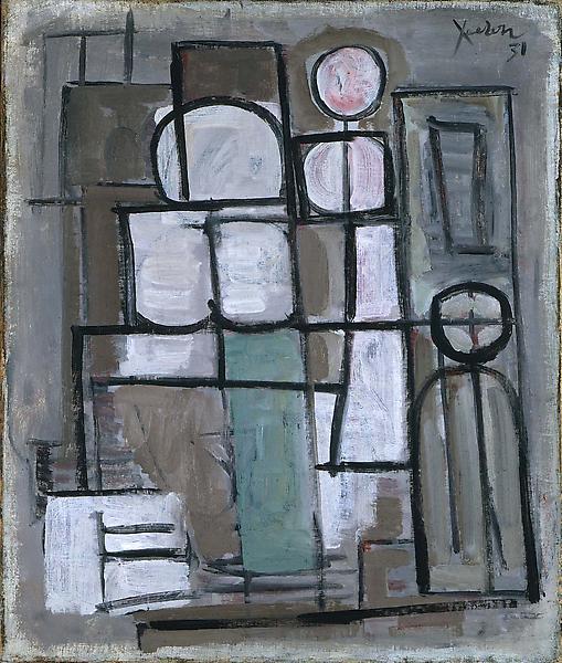 No. 19 Composition en Rose, 1931 oil on canv...