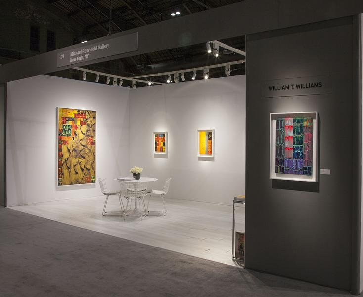 William T. Williams: Selections from the 111 1/2 Series @ The Art Show - ADAA - Exhibitions