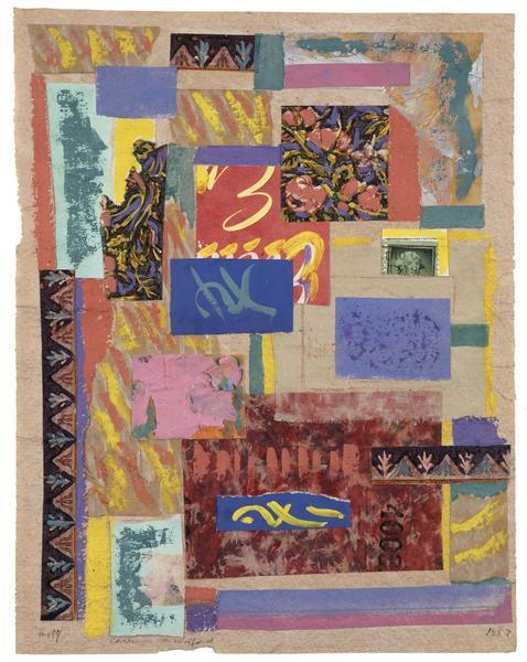 Charmion von Wiegand (1896-1983) Collage #197, 195...